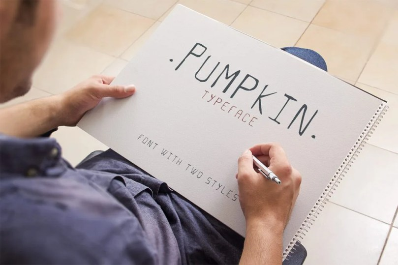 Pumpkin Script Typeface [1 Font] | The Fonts Master