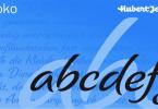 Schoko [2 Fonts] | The Fonts Master