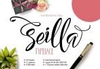 Seilla [1 Font] | The Fonts Master