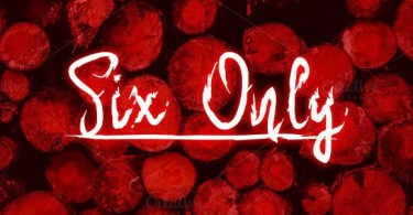 Six Only [1 Font] | The Fonts Master