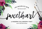 Sweetheart Script + Vectors [1 Font] | The Fonts Master