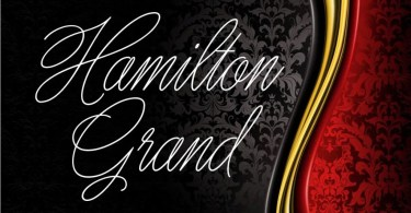 Hamilton Grand [1 Font] | The Fonts Master