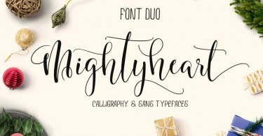 Mighty Heart - Font Duo [2 Fonts]