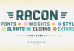 Racon Super Family [26 Fonts] | The Fonts Master