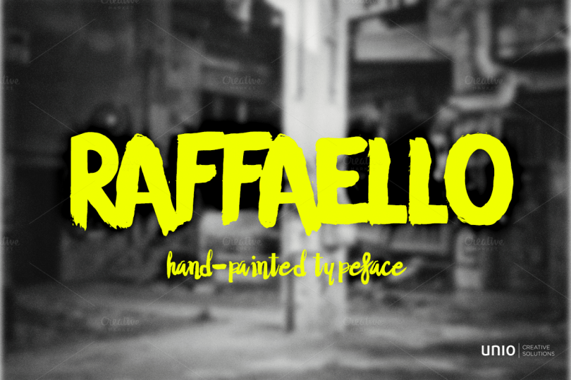 Raffaello Typeface [1 Font]   The Fonts Master