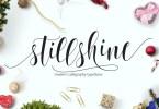 Still Shine Script [1 Font] | The Fonts Master