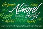 Almond Script [2 Fonts] | The Fonts Master