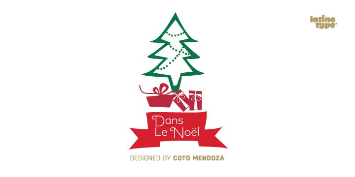 Dans Le Noël [1 Font] | The Fonts Master