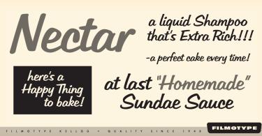 Filmotype Kellog [1 Font] | The Fonts Master
