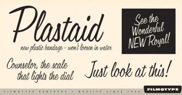 Filmotype Kentucky [1 Font]   The Fonts Master