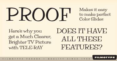Filmotype Parade [6 Fonts] | The Fonts Master