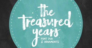 The Treasured Years Font Duo + Bonus [3 Fonts] | The Fonts Master
