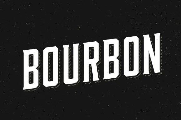Bourbon &Amp; Bourbon Rough Package [6 Fonts] | The Fonts Master