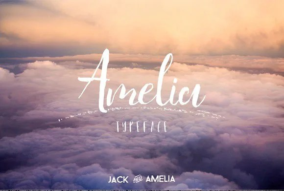 Amelia Typeface [4 Fonts] | The Fonts Master