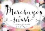 Marahuyo Font Family Set [2 Fonts] | The Fonts Master