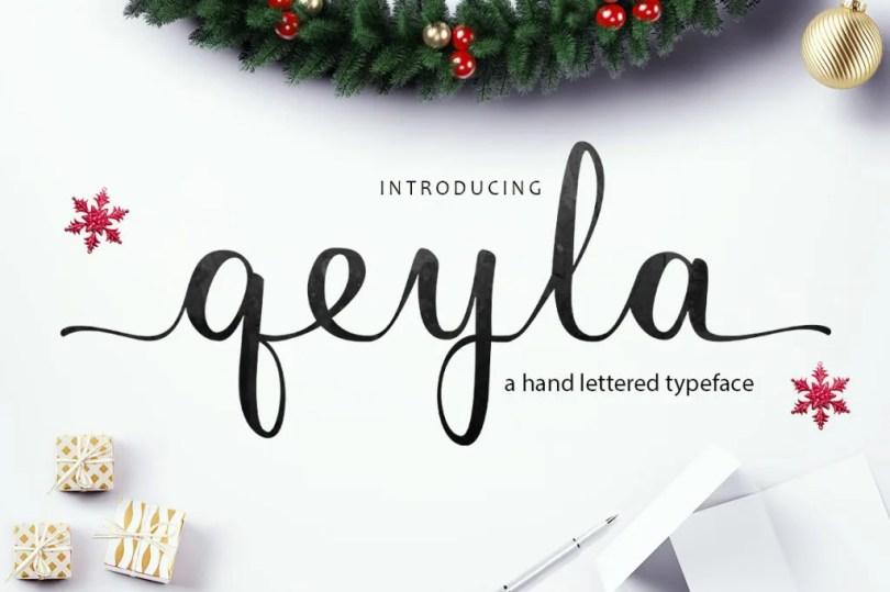 Qeyla Script [1 Font] | The Fonts Master
