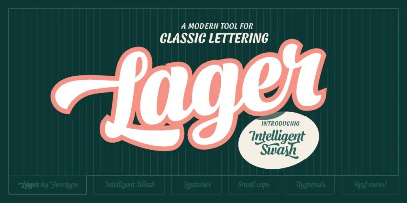 Lager [5 Fonts]   The Fonts Master