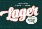Lager [5 Fonts] | The Fonts Master