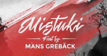 Mistuki [4 Fonts] | The Fonts Master