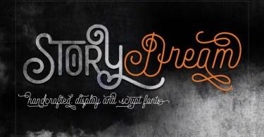Story Dream [2 Fonts]