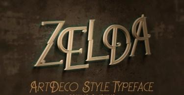 Zelda [2 Fonts] | The Fonts Master