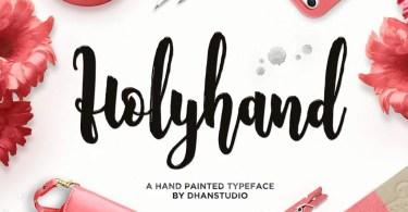 Holyhand Script [1 Font]