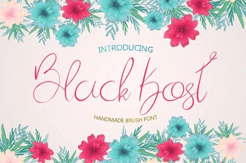 Black Kost [1 Font] | The Fonts Master