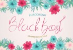 Black Kost [1 Font] | The Fonts Master
