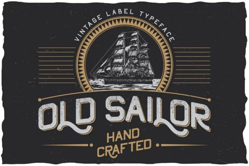 Oldsailor [5 Fonts] | The Fonts Master