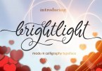 Brightlight [1 Font] | The Fonts Master