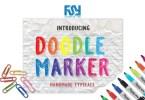 Doodle Marker [1 Font] | The Fonts Master