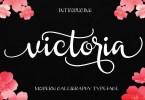 Victoria [1 Font] | The Fonts Master