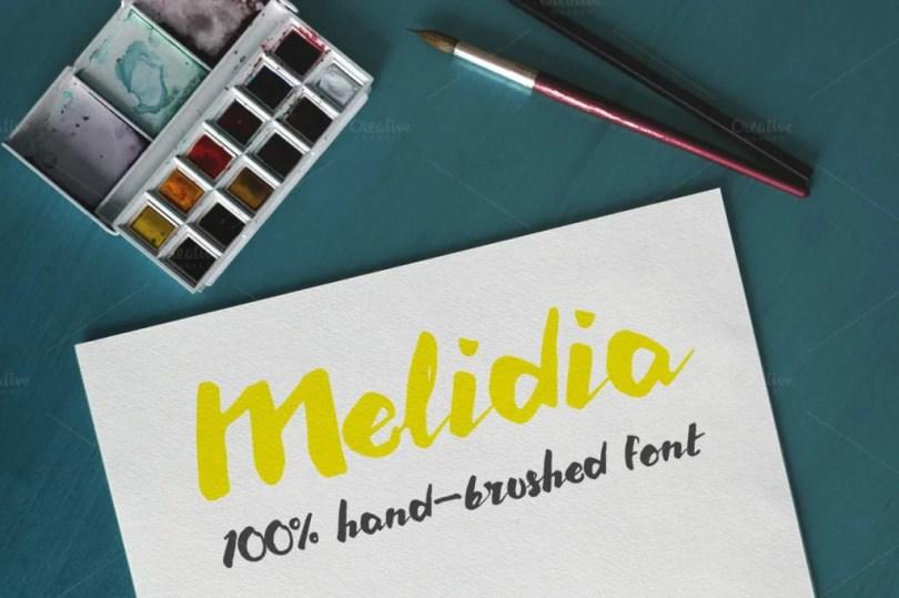 Melidia [1 Font] | The Fonts Master
