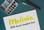 Melidia [1 Font] | The Fonts Master