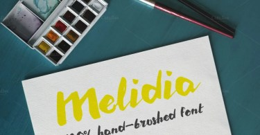 Melidia [1 Font]