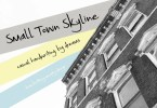 Small Town Skyline [1 Font] | The Fonts Master