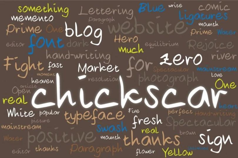Chickscar [1 Font] | The Fonts Master