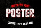 Vtks Poster [1 Font] | The Fonts Master