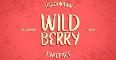 Wildberry [2 Fonts] | The Fonts Master