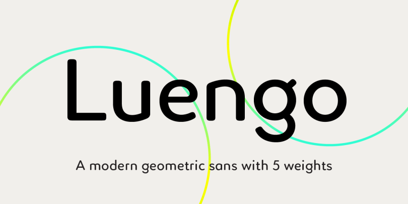 Luengo [5 Fonts]   The Fonts Master