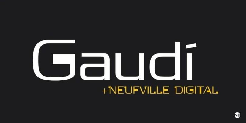 Gaudi Nd [1 Font] | The Fonts Master