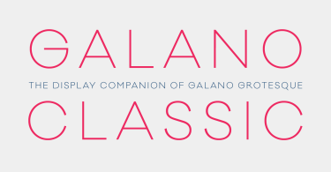 Galano Classic Super Family [40 Fonts] | The Fonts Master