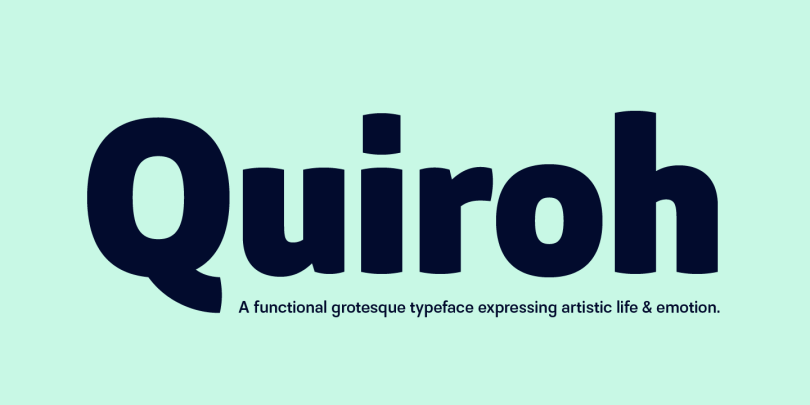 Quiroh [7 Fonts]   The Fonts Master