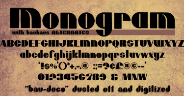 Mcm Monogram [2 Fonts] | The Fonts Master