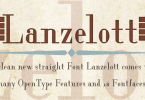 Lanzelott [18 Fonts] | The Fonts Master