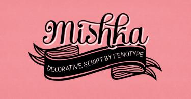 Mishka [3 Fonts] | The Fonts Master