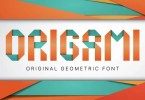Origami [2 Fonts + Extras] | The Fonts Master