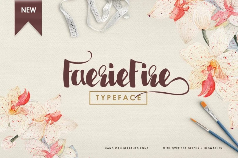 Faeriefire [2 Fonts]   The Fonts Master