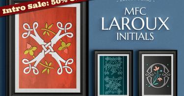 Mfc Laroux Initials [3 Fonts] | The Fonts Master