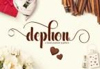 Dephon Script [1 Font] | The Fonts Master
